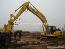 Excavator Mounted Vibro Hammer/vibratory pile driver