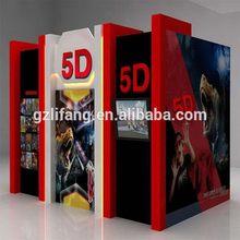 Quality stylish russian market customized 5d cinema
