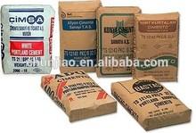 Cement multiwall kraft paper packaging bag