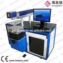 Portable Stainless Steel/ Aluminum / ABS / Ring Fiber Laser Marking Machine