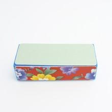retail 10pcs professional nail tools flower design sponge nail buffer from coledl