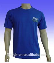 Blue color spandex t-shirt custom t-shirt men's t-shirt