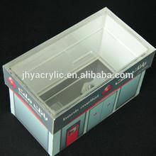 donation bin,acrylic coin / donation box