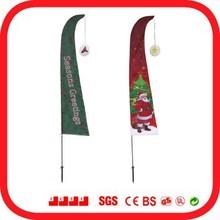 Flag christmas decoration 7 feet