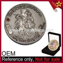 Custom stamping metal ancient replica coins