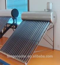 Foshan low pressure stainless steel solar water heater