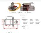 electric starters type Mitsubishi starter type M008T80471 for Mitsubishi 4M40 4M41