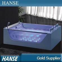 HS-B227 acrylic transparent bathtub/ glass bathtub/ free standing bathtub
