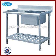 Commerical resturant Kithcen Stainless Steel kitchen sink table