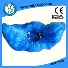 wholesale cheap laboratory blue disposable PE plastic shoe cover