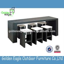Bar Club rattan furniture rattan bar table and bar chair