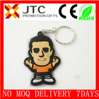 Hot-selling promotional custom cartoon characters soft pvc key chain soft pvc key chain-096