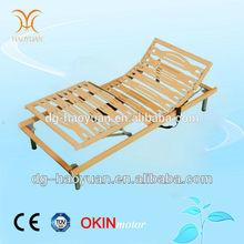 Sleep Science Strengthen Solid Wooden Slats Electric Adjustable Bed Frame
