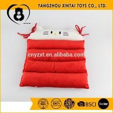 Cute kitten design red color pet mattress