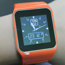 2014 new design android touch screen gsm smart hand watch mobile phone price