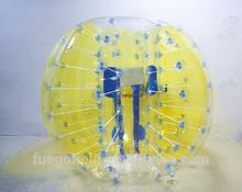 hot sale popular bumper ball/ human hamster ball soccer TPU Buddy bumper ball