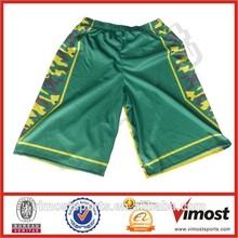 polyester mesh custom league training basketball shorts