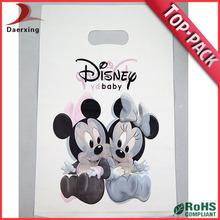 Custom logo fashion die cut gift bag manufacture