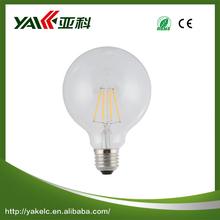 High brightness G80 color temperature adjustable led bulb light E14/E27