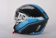 2015 new design ECE helmet,Motorcycle Helmet, dual visor ,open face helmet.JX-OP01