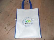 Customized Reusable Pp Tote Non Woven Lamination Shop Bag