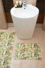 アンチスリップpvc発泡バスルームの装飾の絨毯オリエンタルフロアクッション