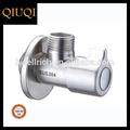 sanitaria de acero inoxidable grifo de agua partes válvula de compuerta de grifo de la válvula de ángulo qf547
