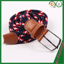 New design Fashion elastic belt material/ belt for man