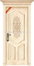 ประตูไม้ที่เป็นของแข็งของจีนขายส่ง