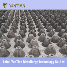 2015 steel mill need refractory Slag Limiting cone for varied tons converter made by YUNTIAN