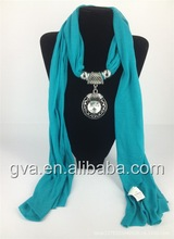 scarf pin silk cashmere scarf hijab for malaysia women SP1144