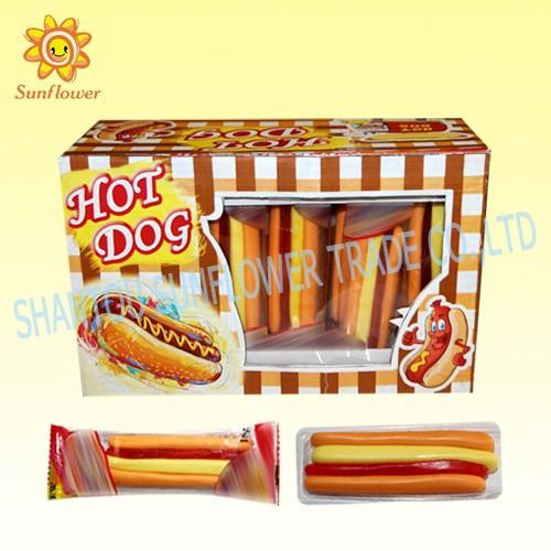 Hot Dog Jelly Gummy Candy