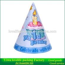 birthday hat paper