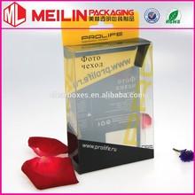 transparent PVC plastic prolife box clear box PP boxes