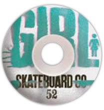 52mm Girl Skateboards Big Girl Grain Skateboard Wheel