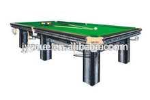 new design cheapest snooker table for elastic fabric belt