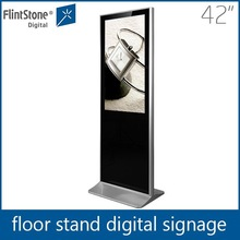 Floor standing shopping mall Sumsung vertical screen 42 inch 1080P HD lcd advertising player/monitor/digital signage/display