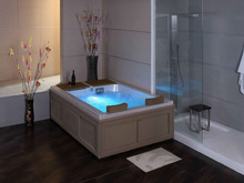 Modern TUV porcelain drop in bathtub