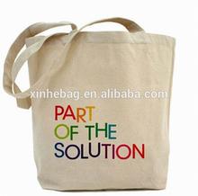 Eco-friendly Germany quality custom fancy cotton shopping bag