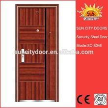 China manufacturer asian vented exterior door SC-S046.