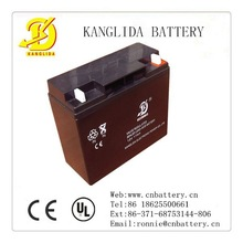 deep recycle sealed rechargeable lead acid battery 12v17ah