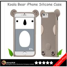 """Cute Koala Bear Colorful Silicone Phone Case For iPhone 6 4.7"""" 6 Plus"""