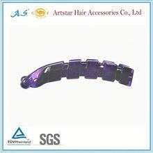 shark plastic alligator hair clips