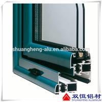 customized 6000 series aluminium doors and windows accessories