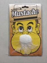 many kind funny fake mustache/beard mustache white beard