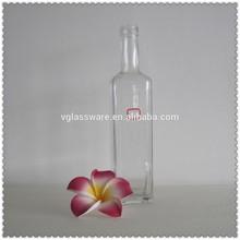 Glass tea infuser bottle frosted glass spray bottle