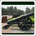 Caliente la venta de jardín de hierro antiguo modelo de cañones de