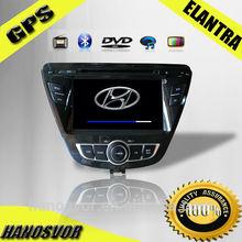 Hyundai 2014 Elantra car dvd player with GPS bluetooth TV
