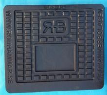 En124 B125 cast iron water meter manhole cover