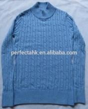 Missies' 70% acrylique 20% Nylon 10% laine tricotée 9GG à col L / S pull